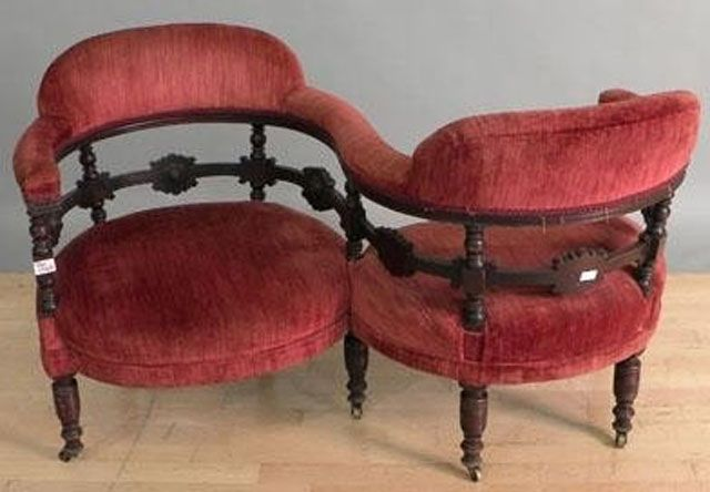 Loveseats: Furniture Built for Two: Loveseats: The Tête-a-Tête