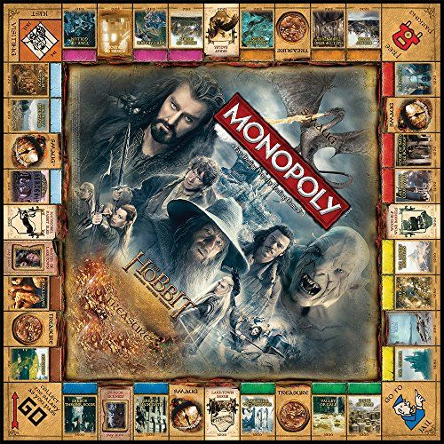 MONOPOLY: THE HOBBIT Trilogy Edition | Geek Armory