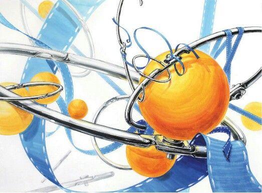 탁구공,링,푸른 띠 -미대입시