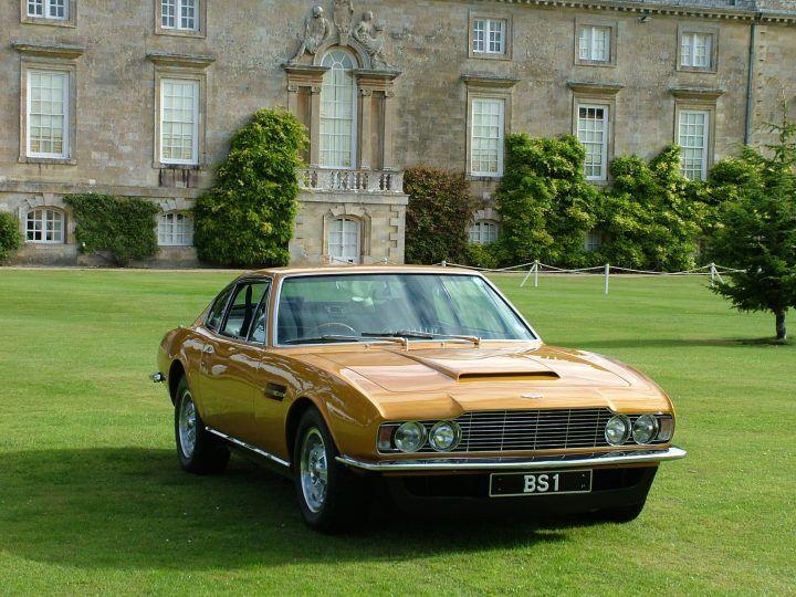 Aston Martin DBS - Lord Brett Sinclair...