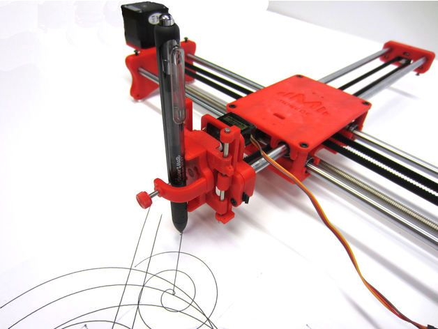 Drawing Robot - Arduino Uno + CNC Shield + GRBL by