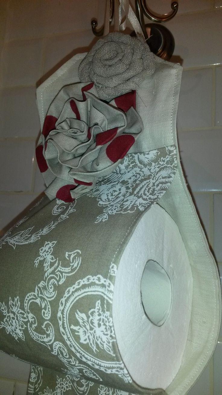 porte papier toilette : Accessoires de maison par a-fleur-2-pots
