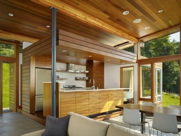 open natural kitchen