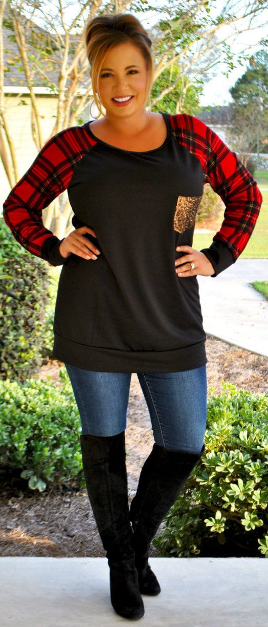 Perfectly Priscilla Boutique - All Be-Claus Of You Top, $40.00 (http://www.perfectlypriscilla.com/all-be-claus-of-you-top/)