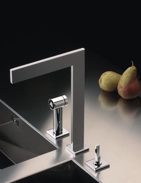 Rubinetti cucina: Miscelatore Zenit di Ritmonio | Design: Davide ...
