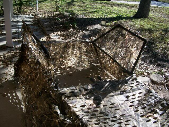 DIY layout blind... - TexasBowhunter.com Community Discussion Forums