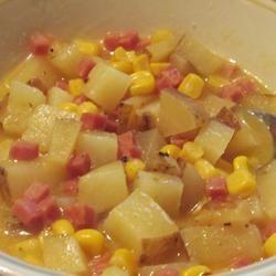 Corny Ham and Potato Scallop Allrecipes.com