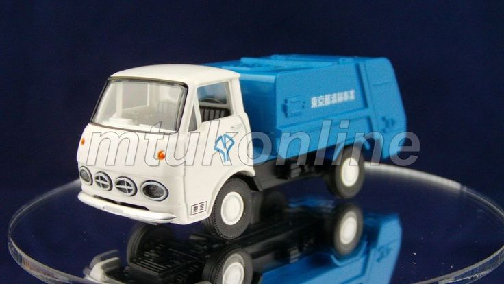 TOMICA LV35a NISSAN PRINCE CLIPPER 1966 | 1/64 | GARBAGE TRUCK TOMYTEC 2006