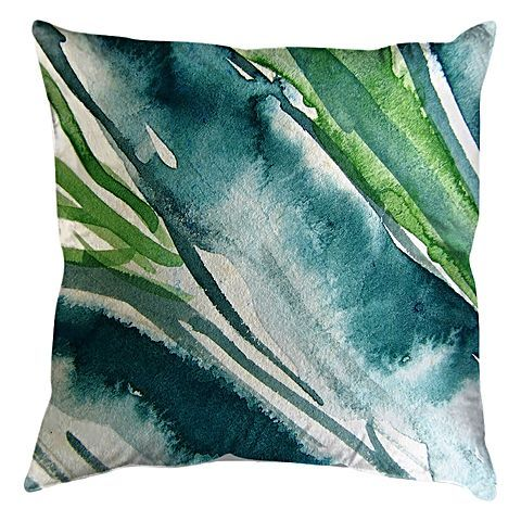 Indulge your sense of style with the ultra-fresh colour and comfort of the Aloe Extraction Indoor/Outdoor Cushion from United Interiors.