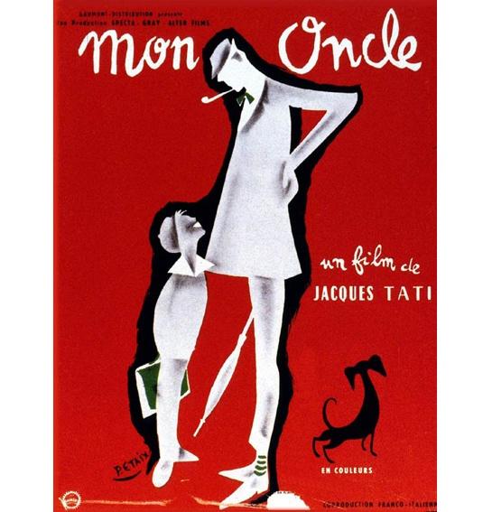 Mon oncle, de Jacques Tati (1958)  suggested by Emmanuelle Alt