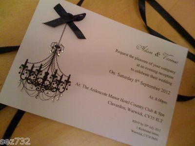 Chandelier Wedding Invitations - http://exweddinginvites.info/chandelier-wedding-invitations/