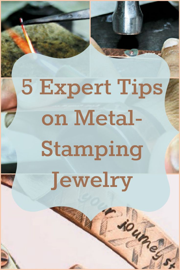 5, must-know tips on how to improve your metal-stamping jewelry technique and more! #jewelrymaking #metalstamping #DIYjewelry