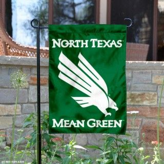 University of North Texas Garden Flag