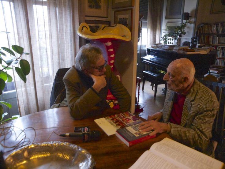 A casa di Gillo Dorfles, foto Alessandra Finzi, 23:11:2016 - 05