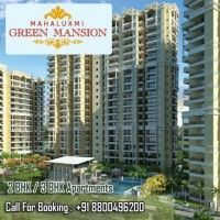 Mahaluxmi Green Mansion offers Property, 2 BHK and 3 BHK Flats, Real Estate near Opposite Zeta 1 Greater Noida, Uttar Pradesh. Flats are 995 Sq ft to 1050 sq ft are offered at the attractive price of Rs 25 lakhs to 30Lakhs.