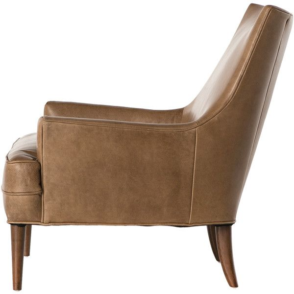 Vanda Retro Modern Camel Brown Leather Armchair  1 524    liked on  Polyvore featuring homeBest 25  Brown leather armchair ideas on Pinterest   Brown leather  . Havana Leather Armchair. Home Design Ideas