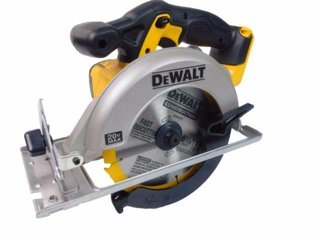 Dewalt Cordless Circular Saw DCS393B 20-Volt Max 6-1/2 in. With a Free Blade