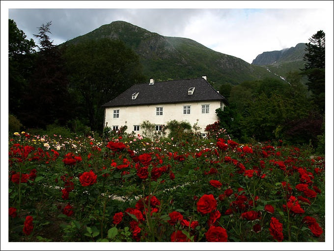 Baroniet, Rosendal, Norway