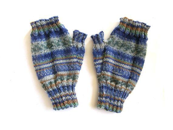 Vingerloze wanten  handschoenen Forest van door Carolinevantveer