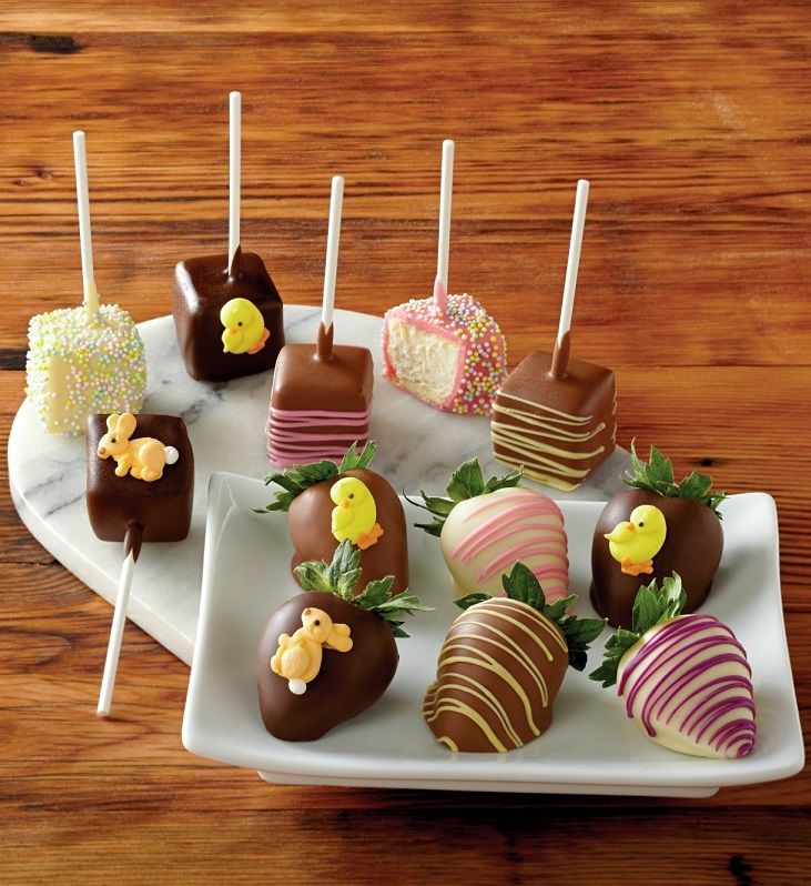 68 best hoppy easter images on pinterest hoppy easter easter two treats in one delightful easter gift get chocolate covered strawberries and bite sized negle Gallery