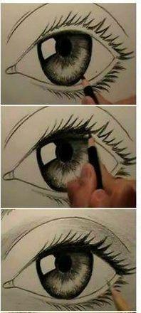 Adım Adım Göz Çizimi 3