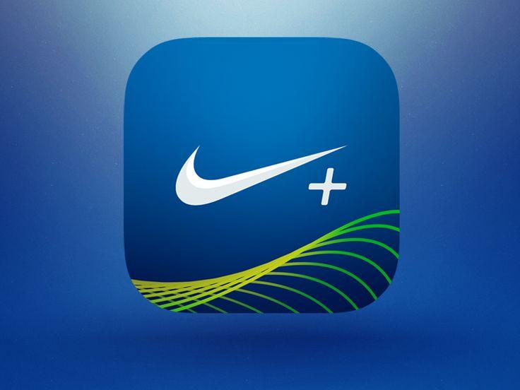 Nike+ Runner iOS App IconRamotion Dribbble Behance Twitter
