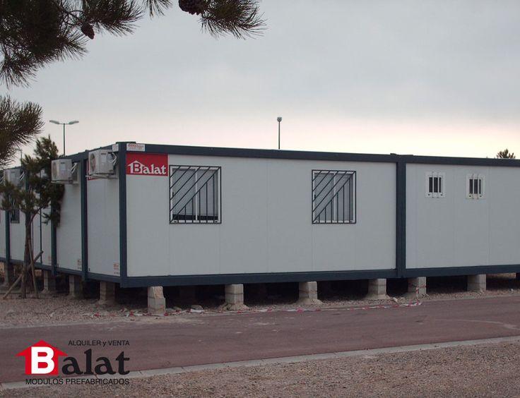 7 best casetas de obra oficinas de obra para puerto - Balat modulos prefabricados ...