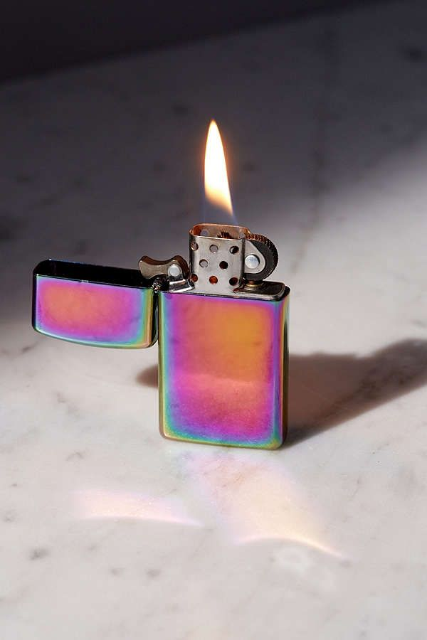 Slide View: 2: Zippo Spectrum Lighter