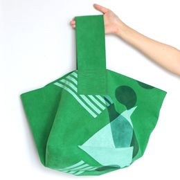 fun green bag!