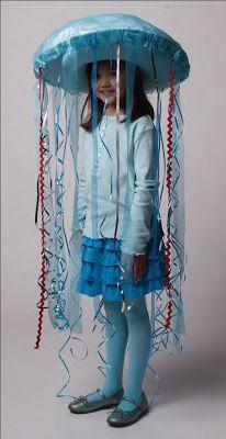 Papas en apuros: Ideas para fiestas: Disfraz de medusa