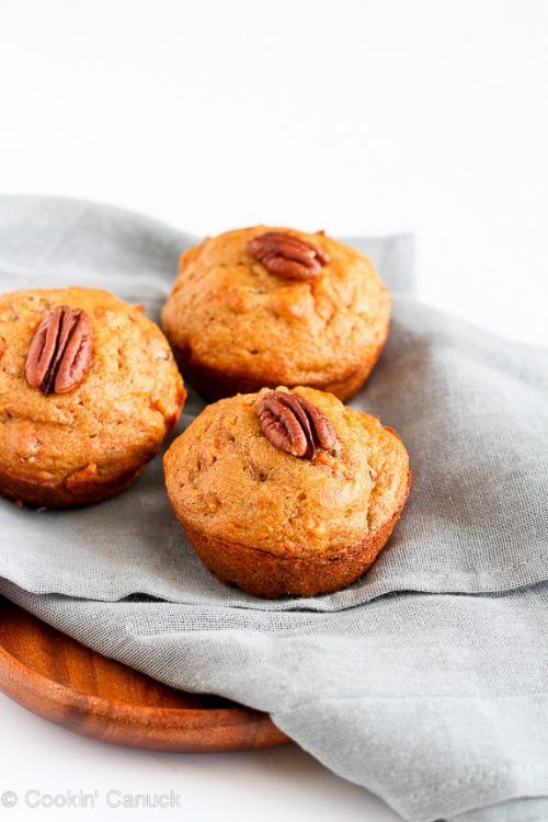 Hello delicious muffin! Whole Wheat Carrot Muffins (5 P+) plus more Weight Watchers Recipes and Their Point Values on Frugal Coupon Living.