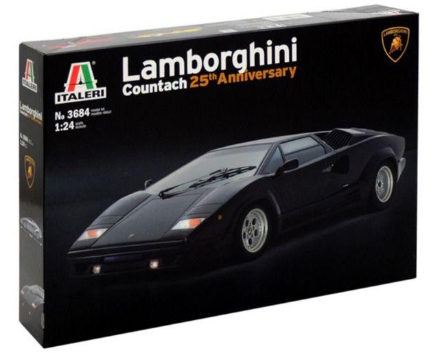 Italeri: 1/24 Lamborghini Countach - Model Kit