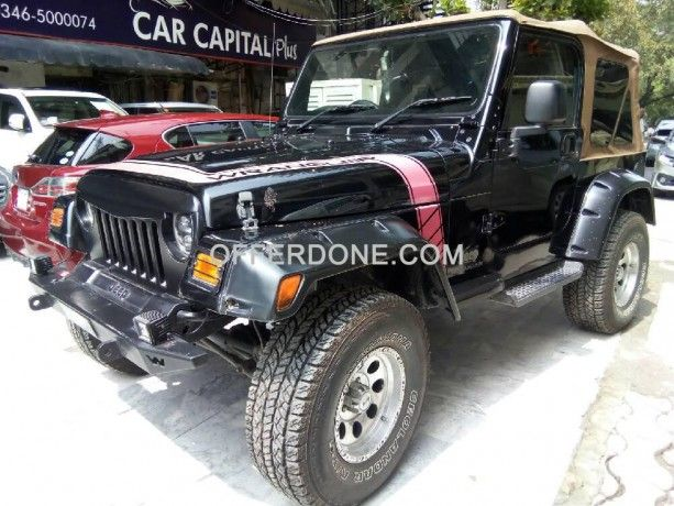 Jeep Wrangler For Sale In Pakistan At Offerdone Com Jeep Wrangler For Sale In Pakistan Alloy Rims Inside Out F Jeep Wrangler For Sale Used Cars Cars For Sale