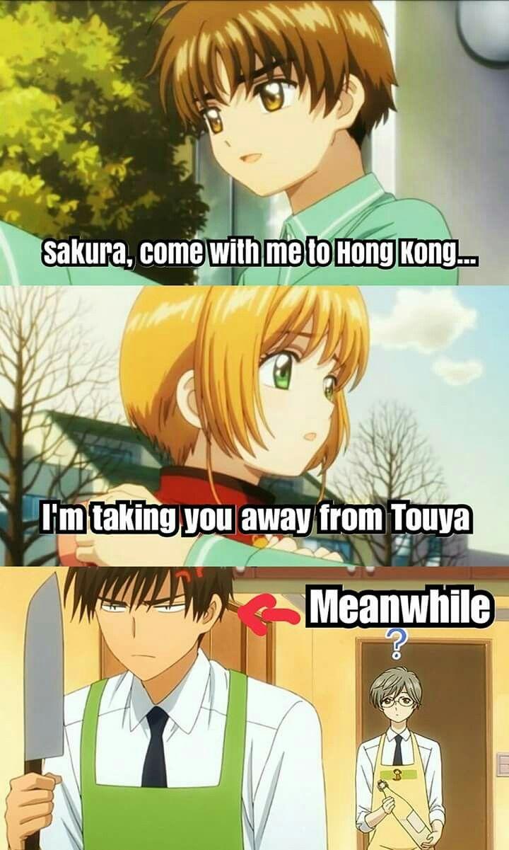 LMFAO brother's wrath |Cardcaptor Sakura|SakuraXSyaoran|Touya Kinomoto|Yukito Tsukishiro|Sakura Kinomoto|Syaoran Li|