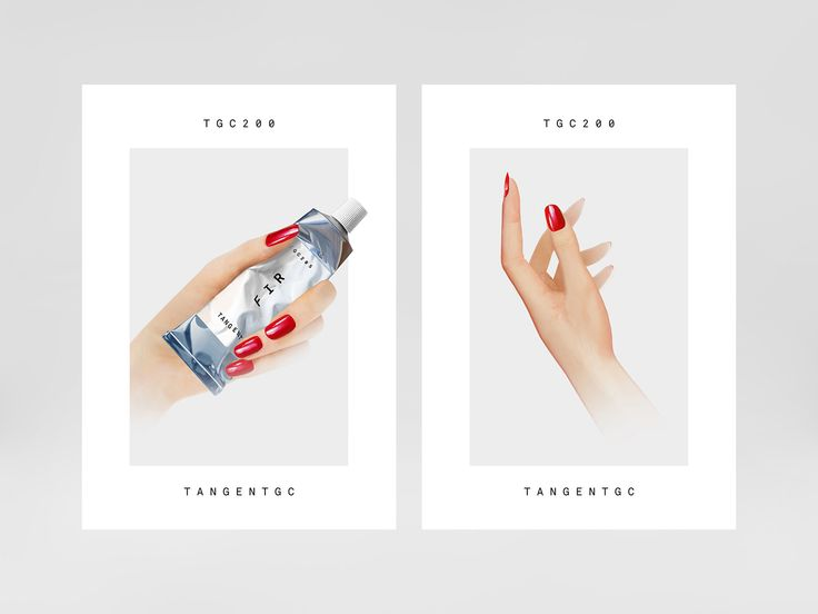 Campaign poster by London-based Carl Nas Associates for Tangent GC featuring illustration by Syd Brak. #skincare #packaging #branding
