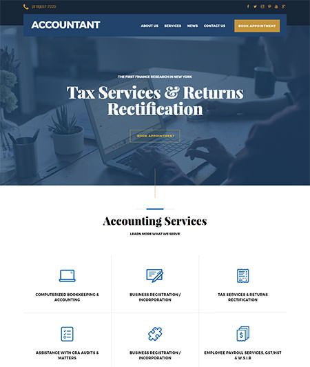New Theme: Accountant Skin For Ultra WordPress Theme By Themify Themes  Link: https://www.frip.in/accountant-skin-ultra-wordpress-theme/