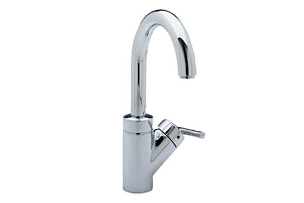 BLANCO 440625 Rados Modern Gooseneck Single-Handle Bar Faucet in Chrome