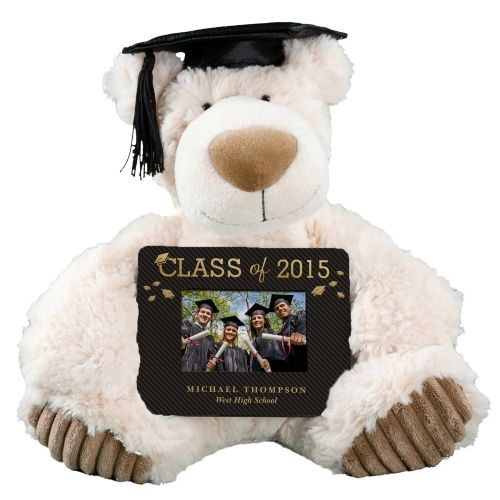 Beautiful This Personalized Graduation Bear Is A Great Way To Celebrate Their  Accomplishments! Comes With A Cap And A Personalized Picture Frame.