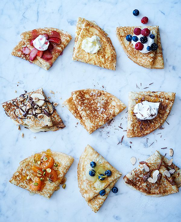 9 ways to top a crepe! How do you like yours? #NationalCrepeDay