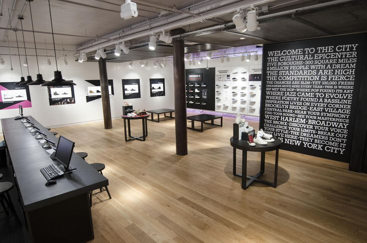 CONVERSE REVAMPS SOHO STORE CREATING LARGEST CONVERSE SHOP IN THE WORLD