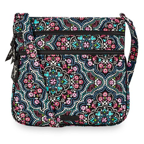 Mickey and Minnie Mouse Medallion Hispter Bag by Vera Bradley