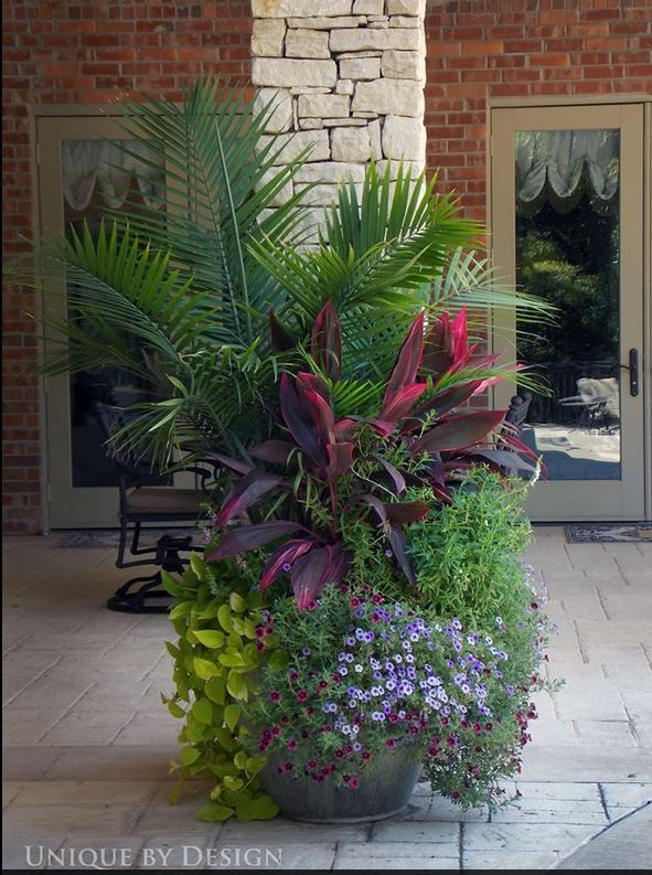 17 best images about container gardening ideas on pinterest container gardening planters and - Unique container gardening ideas ...