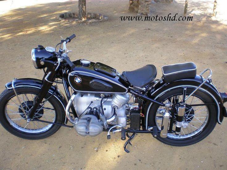 BMW R-68 1952 | Motos Antiguas HD
