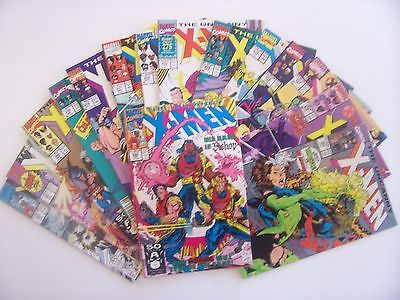 The-Uncanny-X-Men-15-Comic-Book-Lot-269-283-Run-Marvel-1st-Appearance-of-Bishop