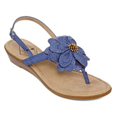St John S Bay 174 Ginnifer Flower Thong Sandals Found At