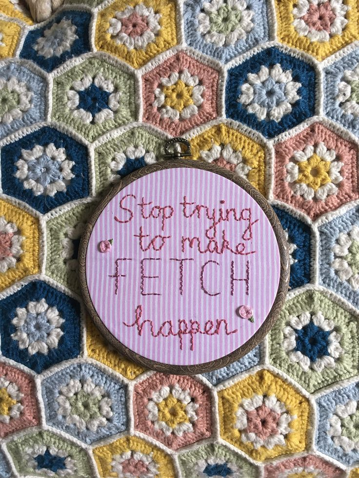 Mean Girls Quote Hoop by OffthebeatentrackCo on Etsy