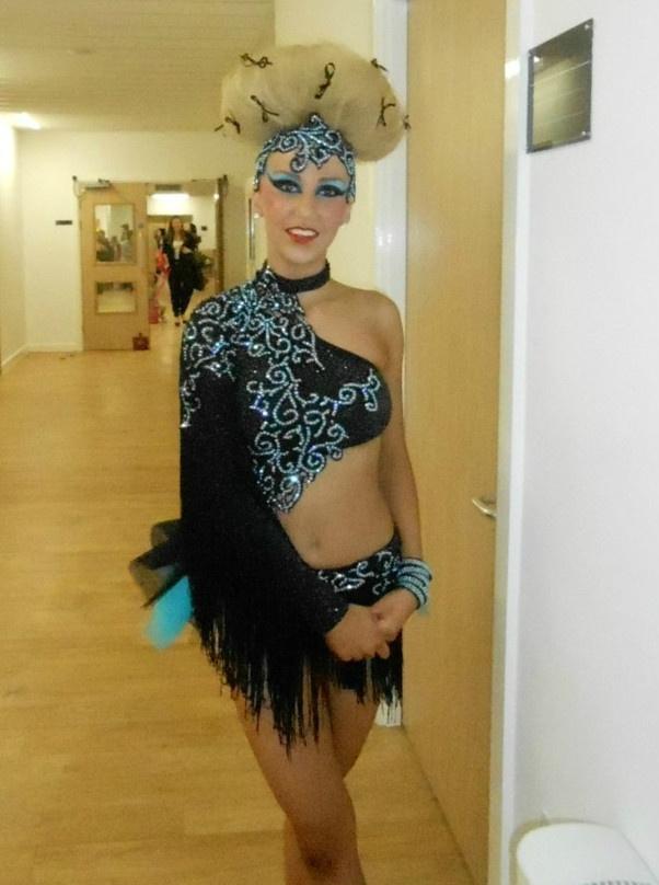 U14 16 Freestyle Disco Slow Dance Costume Slow Dance
