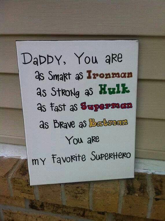 super herói.... papai!