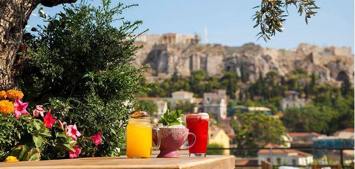 Πού να πιείτε καφέ με υπέροχη θέα στην πρωτεύουσα ; 20 μέρη με την Αθήνα… πιάτο  (PHOTOS)