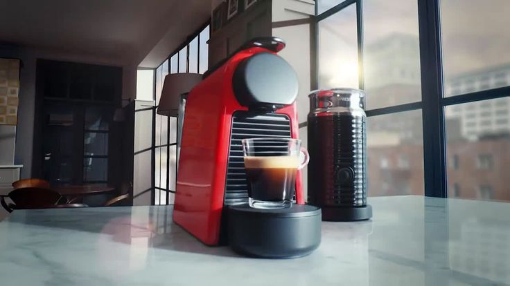 AbanCommercials: Nespresso TV Commercial  • Nespresso advertsiment  • Essenza Mini - Nespresso's smallest machines ever - Snow Globe • Nespresso Essenza Mini - Nespresso's smallest machines ever - Snow Globe TV commercial • Small machine for big coffee moments.A couple look into a snow ball with what appears to be the new Essenza Mini machine inside...With Essenza Mini, Nespresso has delivered its most compact machine yet – without any compromise on taste. Offering 2 programmable cup sizes…